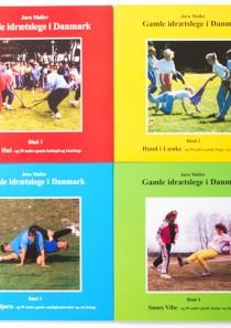 Gamle idrætslege bøger bind 1-4 sæt