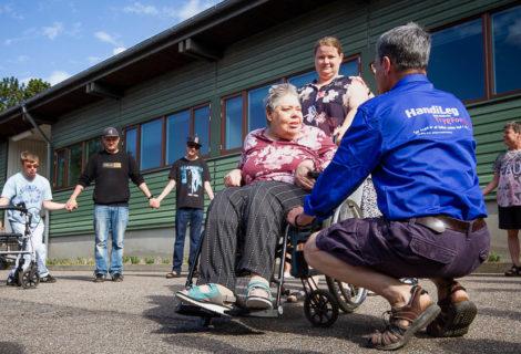 """Gerlev legeparks projekt """"Handileg"""" besøger Viborg"""